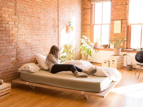 a minimal platform bed for city living a minimal platform bed for city living a minimal - Minimal Bed Frame