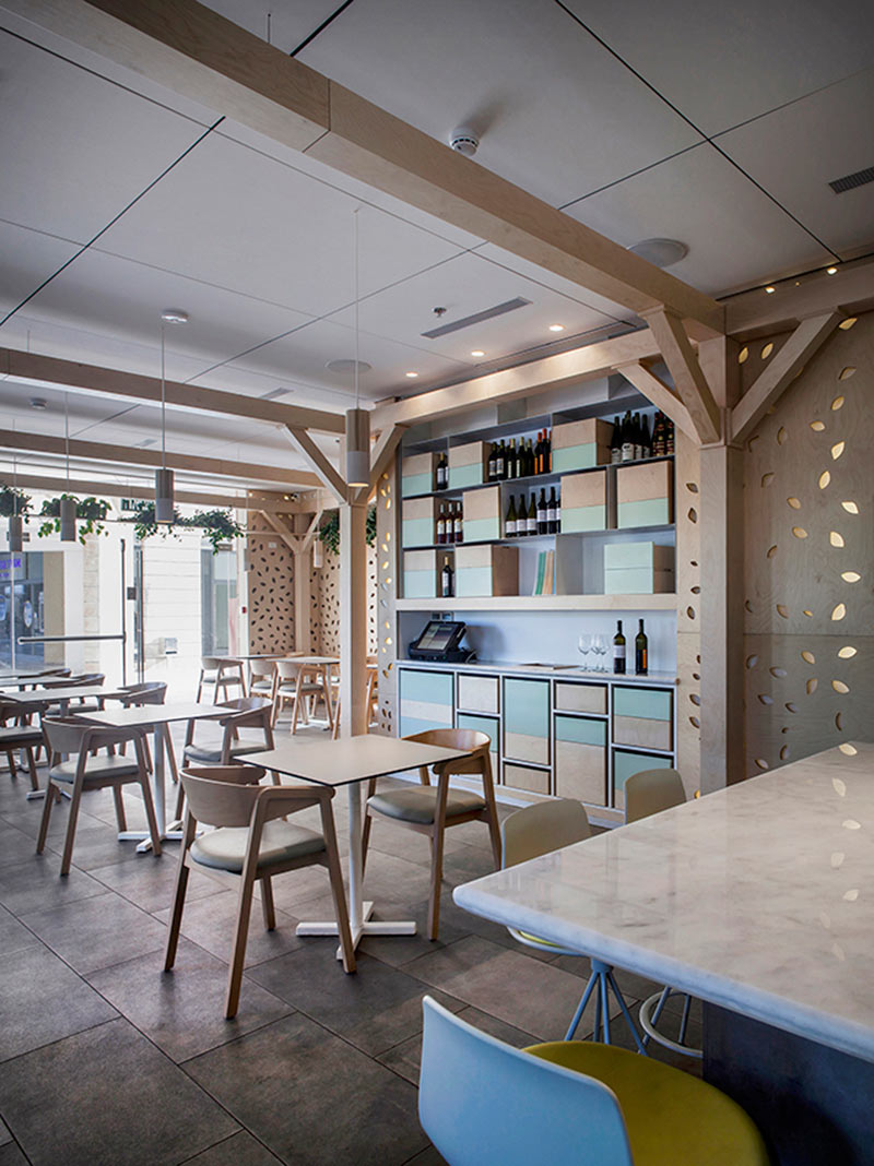 Greenhouse Cafe By Roni Keren Interior Design
