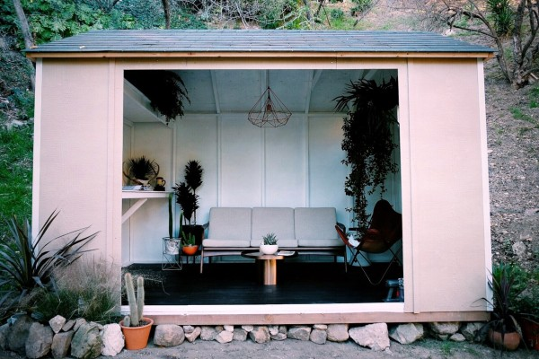 The Tiny Tool Shed Backyard Escape Project Design Milk
