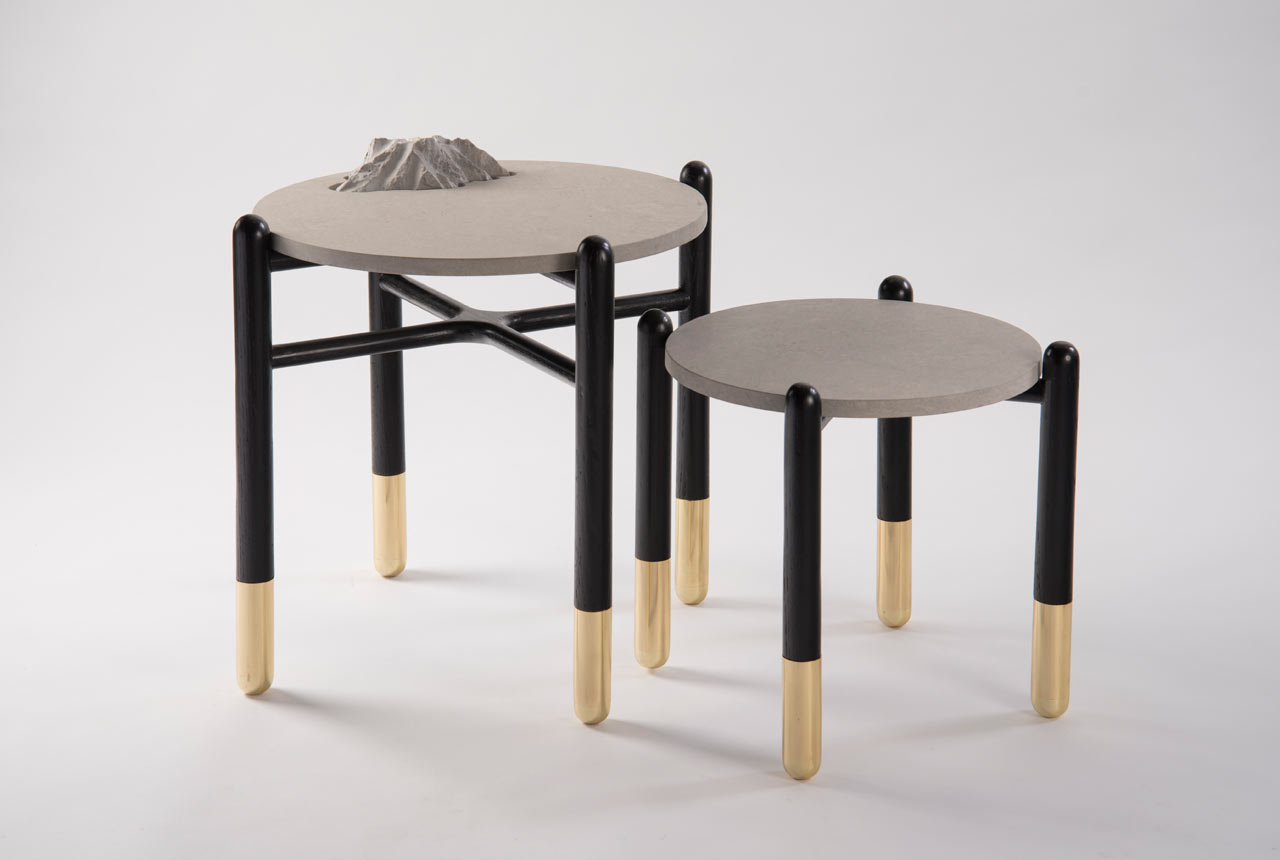 Tables Inspired by Majestic Islands