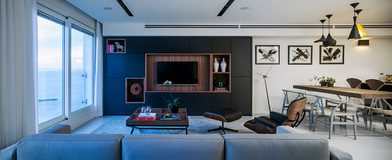 A Modern, Minimalist Apartment in Tel Aviv