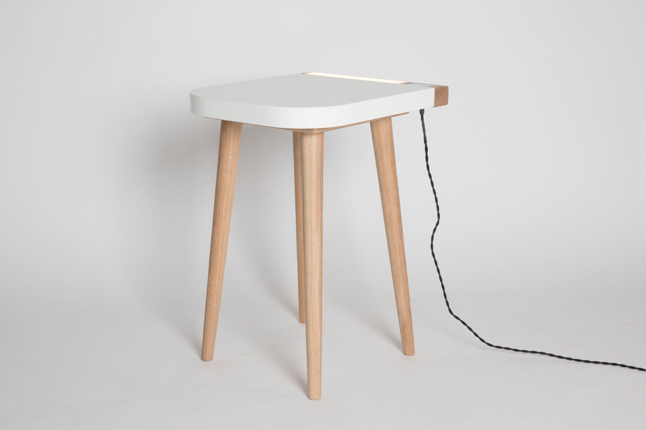 A Dual Purpose Bedside Table by Jake Barker
