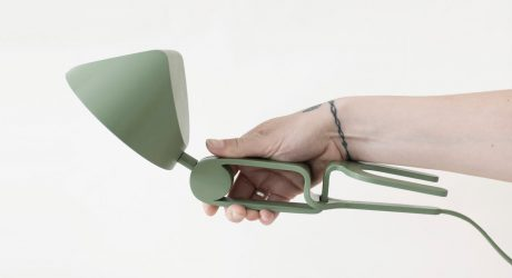 A Lamp That Easily Snaps into Place Wherever You Need It
