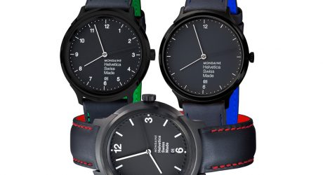 Mondaine Shows NYC Some Love With the Helvetica No1 New York Edition