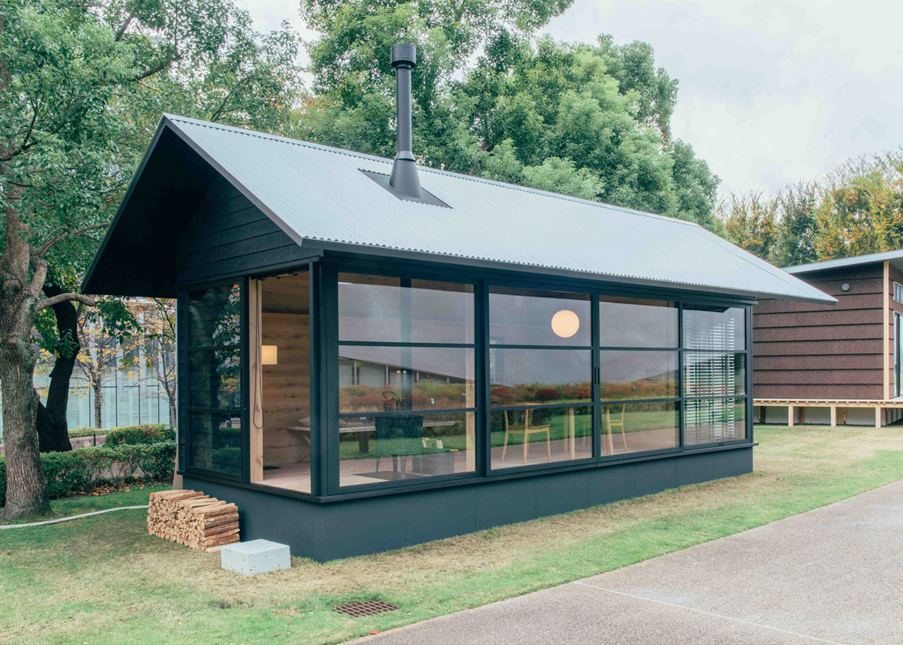 muji launches minimalist prefab homes design milk