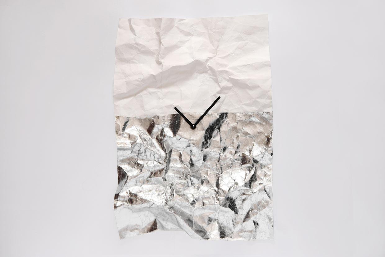 A Durable, Foldable, Smashable Wall Clock
