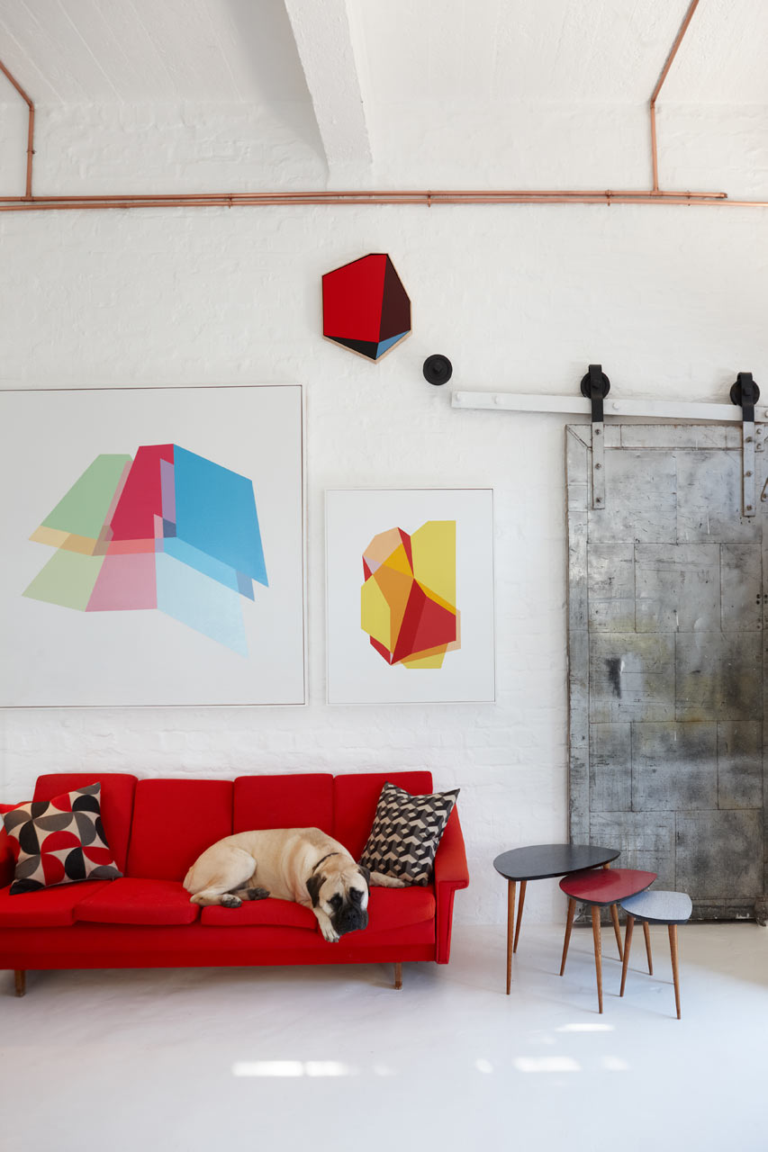 A Newly Renovated Office Space Dedicated to Creativity