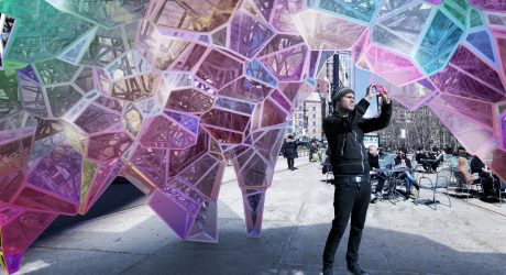 SOFTlab Wins Flatiron Public Plaza Holiday Design Competition