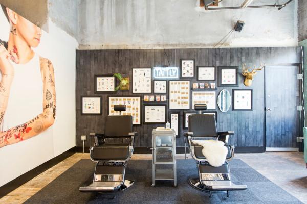 Tattly brings temporary tattoos to brooklyn parlor for Tattoo shop brooklyn