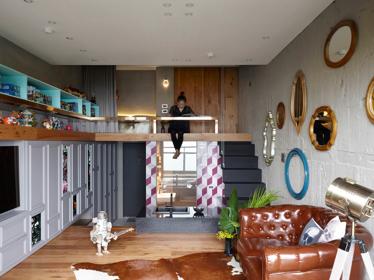 Studio House Design a taipei house designed for toy building and collections - design milk