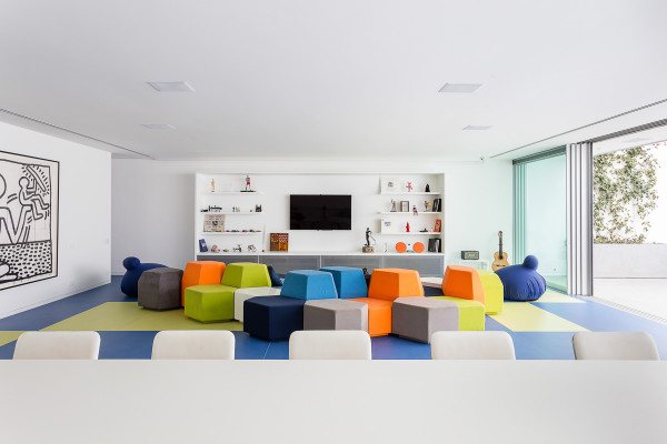 A Playful House Designed for Fun and Parties