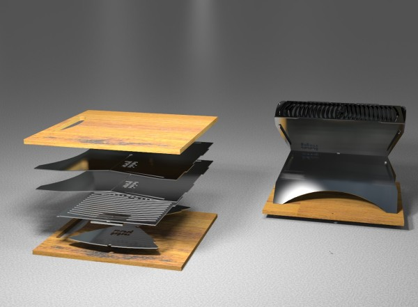 Barbecue Design your next bbq grill should be this one - design milk