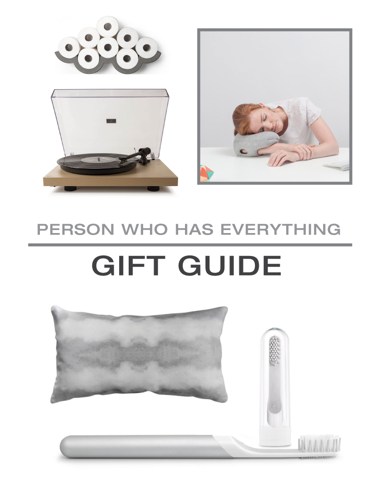 2015 Gift Guide: For the Person Who Has Everything