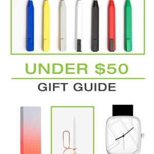 2015 Gift Guide: Under $50