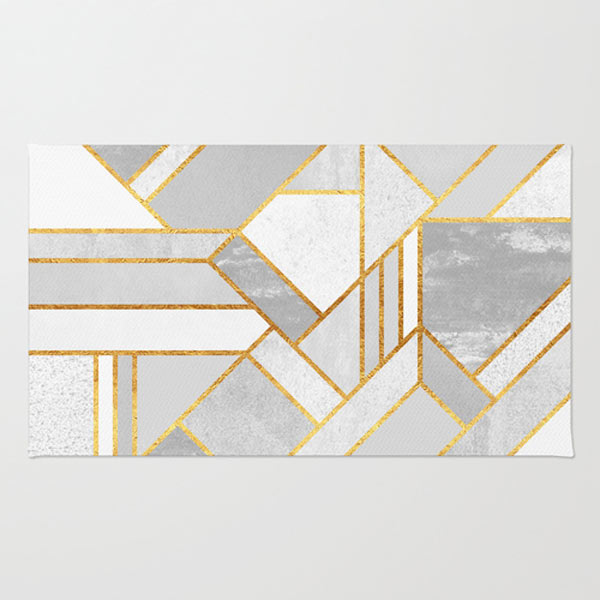 Fresh From The Dairy: Geometric Home Textiles