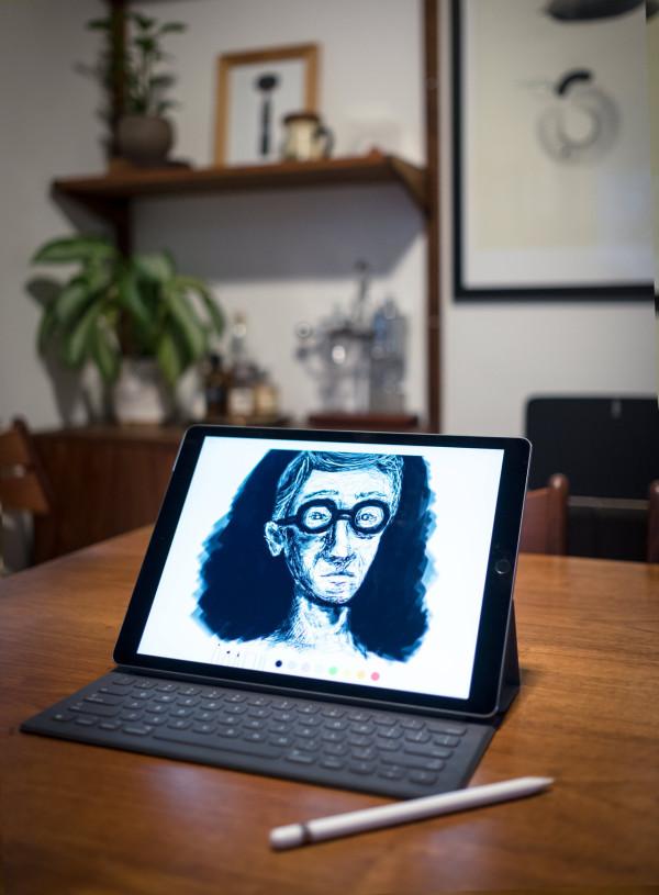iPadPro-Sketching