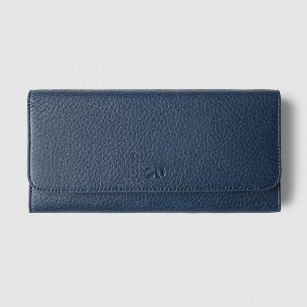 octovo-womens-cheque-snap-wallet-leather-blue-front_3