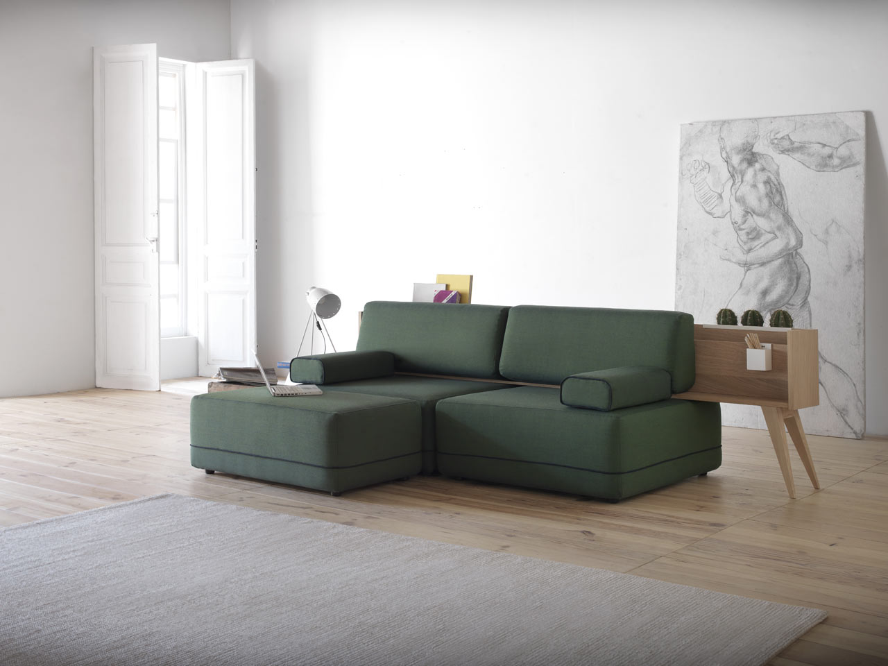 Two Be: A Hybrid Between a Sofa and Occasional Furniture