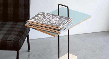 Abgemahnt: A Side Table You Can Tote Around