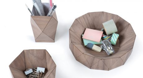 Hand Folded Wooden Objects for the Home