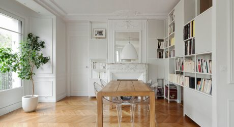 A Modern Haussmannien Flat in the Heart of Paris