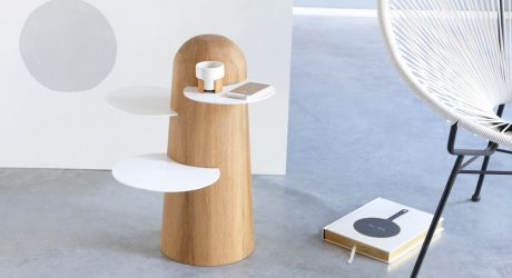 BoBo: A Side Table Inspired by the African Baobab Tree