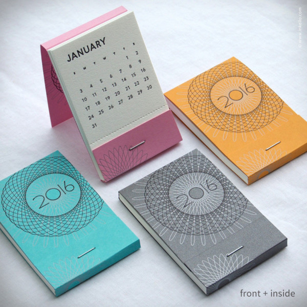 Pocket Calendar Design : Modern calendars for design milk