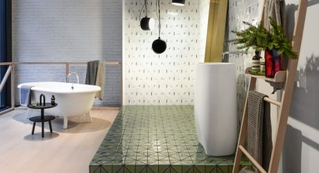 Falken Reynolds Interiors Designed a Display with Familiar Tiles