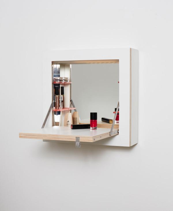 a space saving vanity bar cabinet design milk. Black Bedroom Furniture Sets. Home Design Ideas