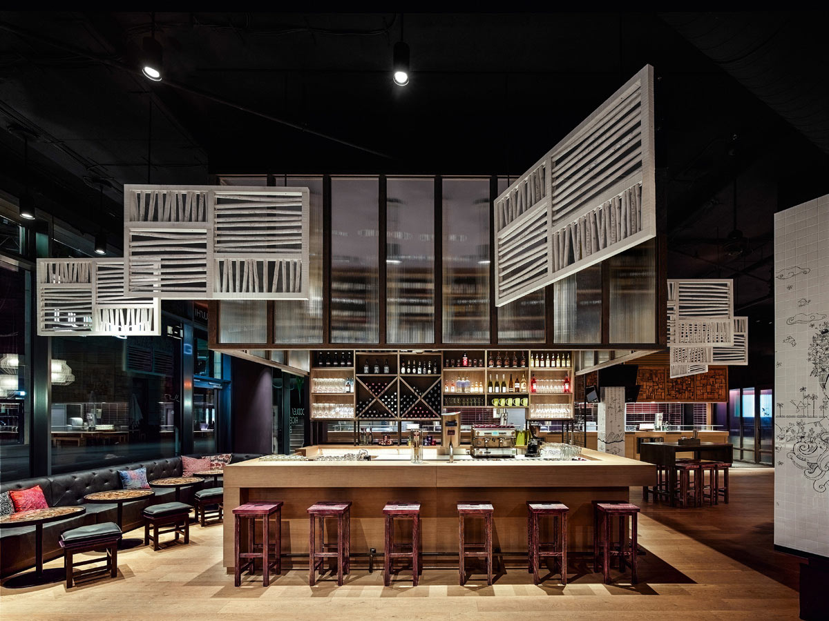 ginyuu a concept restaurant in stuttgart design milk. Black Bedroom Furniture Sets. Home Design Ideas