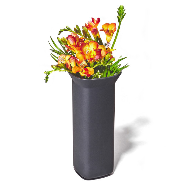 Grovemade - Tabletop Collection - Black Ceramicware Vase