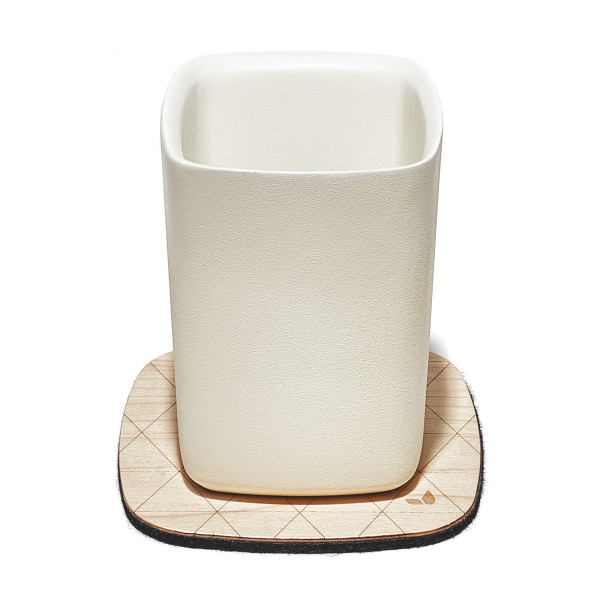 Grovemade - Tabletop Collection - Maple Coaster + Cup