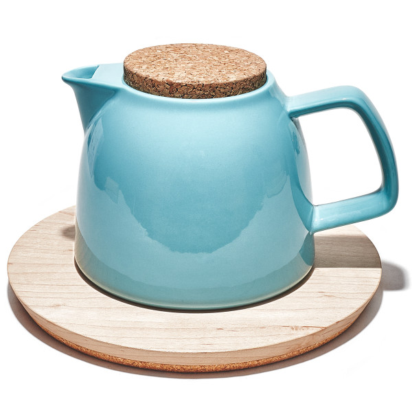 Grovemade - Tabletop Collection - Maple  Trivet + Tea Pot
