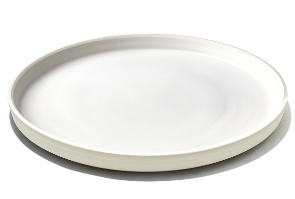 Grovemade - Tabletop Collection - White Ceramicware Dinner Plate