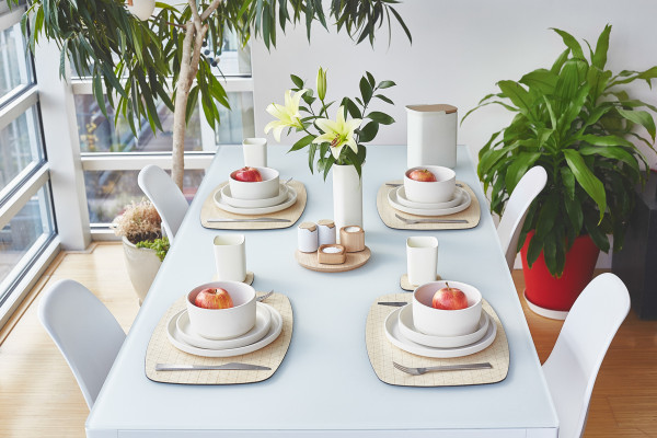 Grovemade - Tabletop Collection - White Ceramicware - Overhead Shot 2