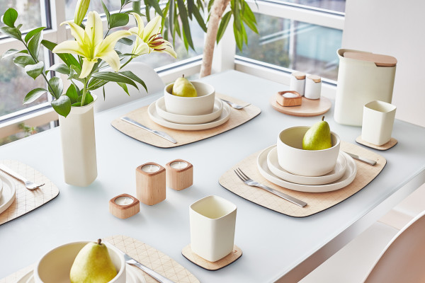 Grovemade - Tabletop Collection - White Ceramicware - Pears 2
