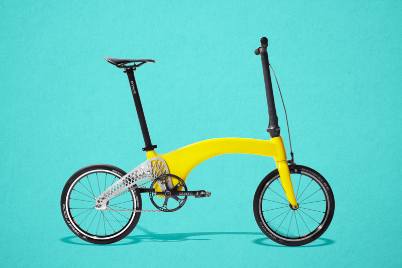 This Bicycle Only Weighs As Much As One Watermelon