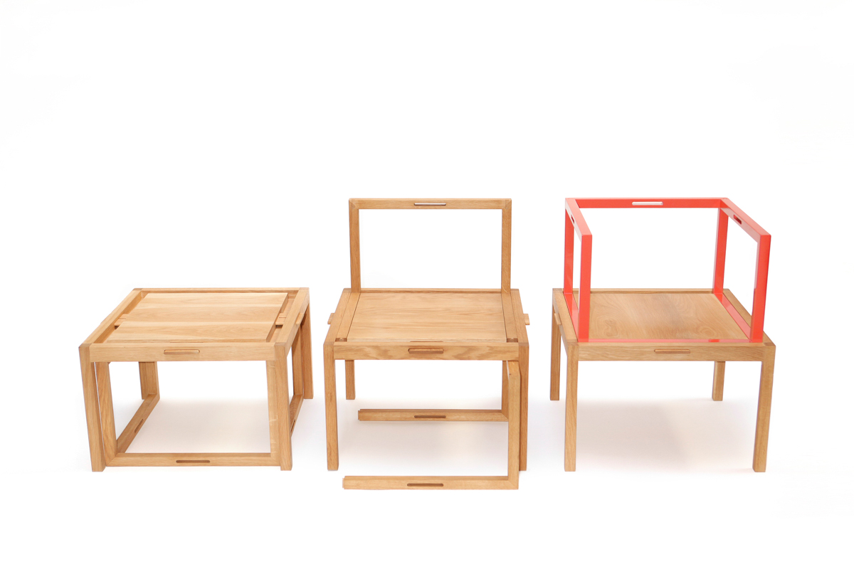 New modular furniture from liao design milk for Designer of furniture