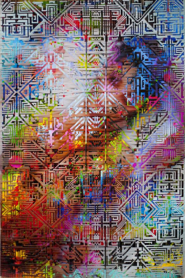 youcantstealmysoul by Lala Abaddon. 24x36''