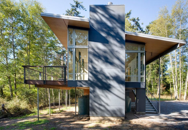 Modern Cabin Design houzz modern cabin design Photo By Paul Warchol