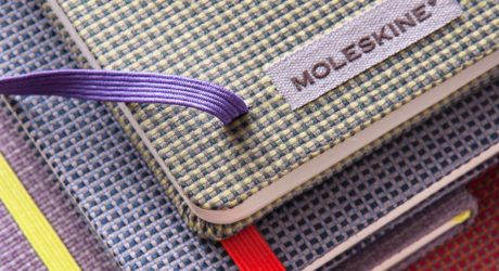 Moleskine's Blend Collection with Jacquard Fabric Covers