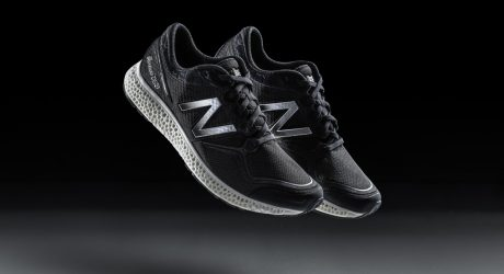 New Balance x Nervous Systems Adaptive 3D-printed Midsole Running Shoes