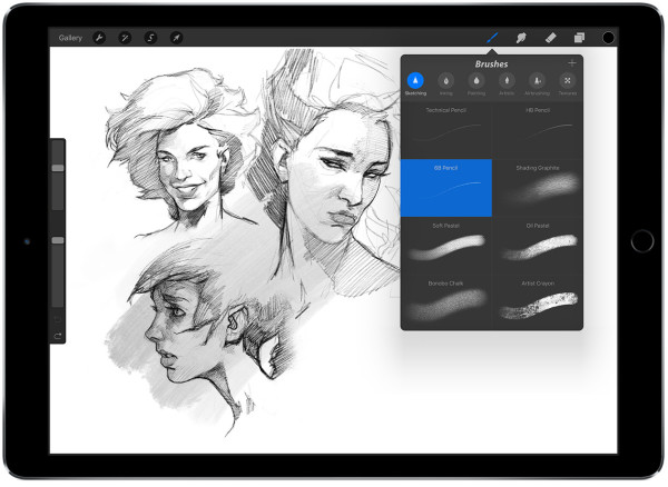 If Theres Any App Wed Personally Recommend Loading Onto The IPad Pro Out Of Box For A Designer Or Artist Its Procreate Optimized