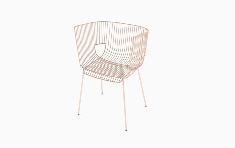 Strie: An Outdoor/Indoor Chair by Arnaud Lapierre