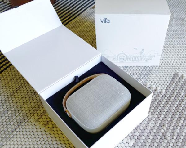 the vifa helsinki bluetooth speaker design milk. Black Bedroom Furniture Sets. Home Design Ideas