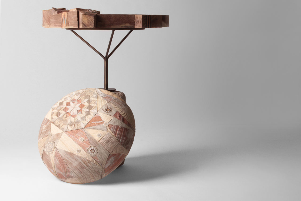 Wonderwood: Multifunctional Objects Made Using Marquetry