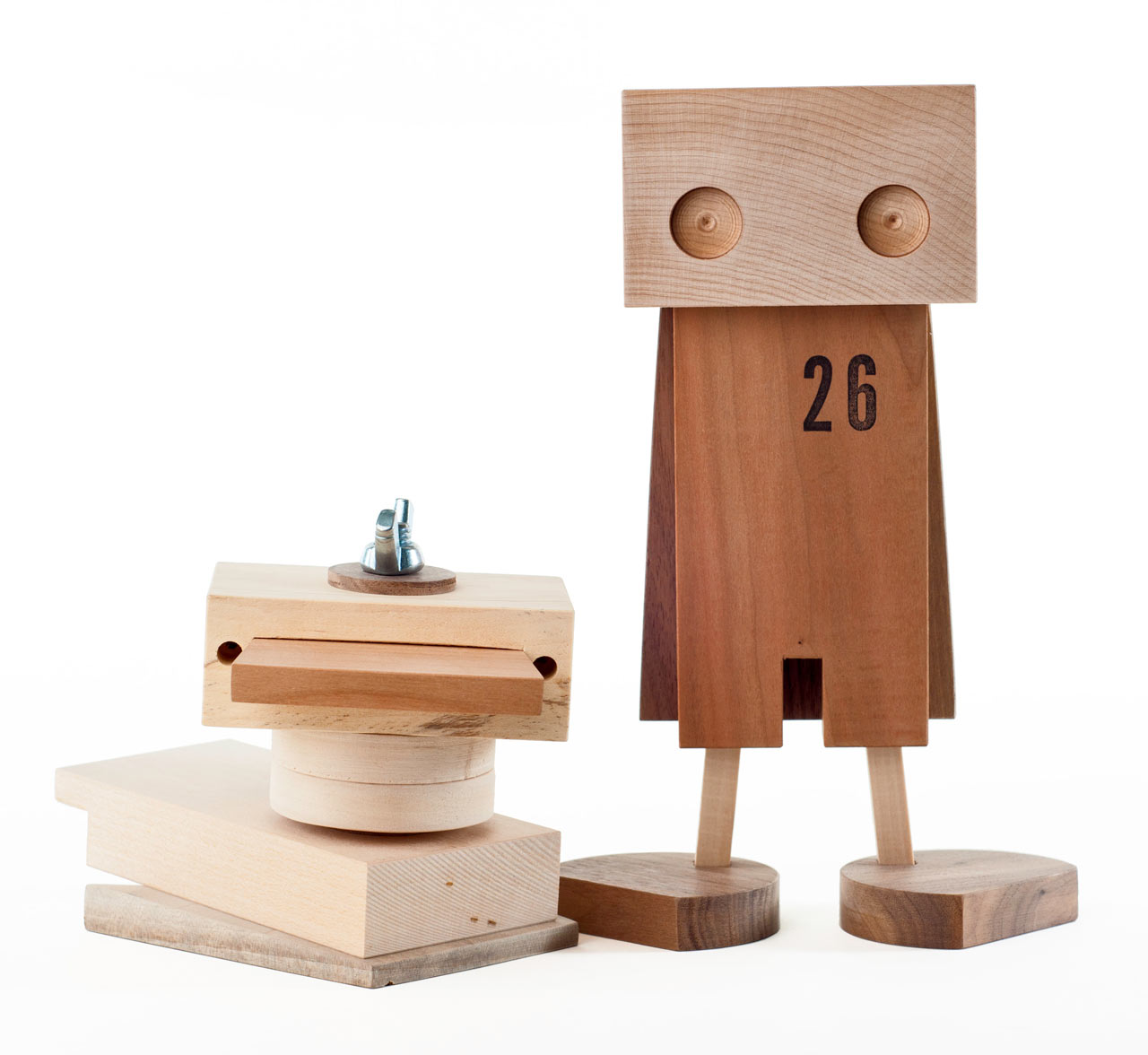 Handmade Wooden Toys Made from Scrap Wood
