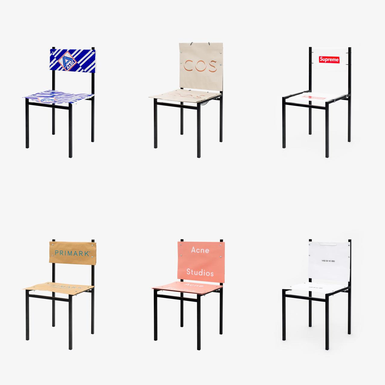 Art vs. Consumerism: shopping bags by Simon Freund
