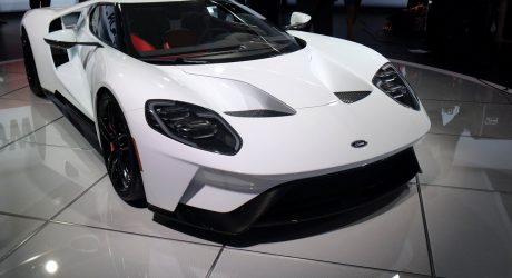 A Sketch Comes to Life at the 2016 Detroit Auto Show: 2017 Ford GT Supercar