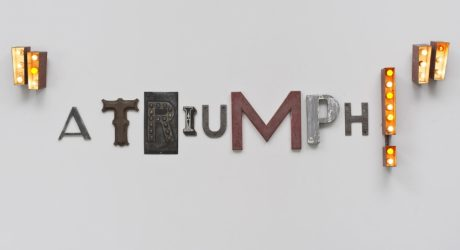 Word Sculptures: Jack Pierson